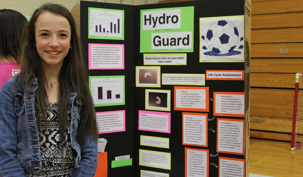 JFDS 8th Grader Takes Top Prize at Invention Convention