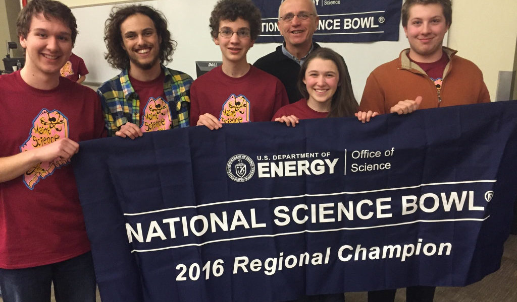 BHS Repeats as Maine Regional Science Bowl Champions