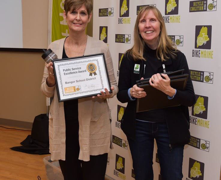 BSD Receives Award from Bicycle Coalition of Maine