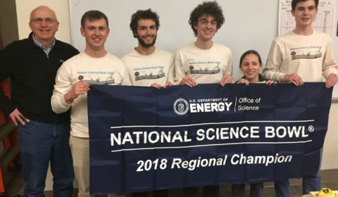 BHS Science Bowl Team Photo